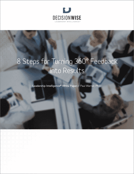 8 Steps for Turning 360 Feedback into Results