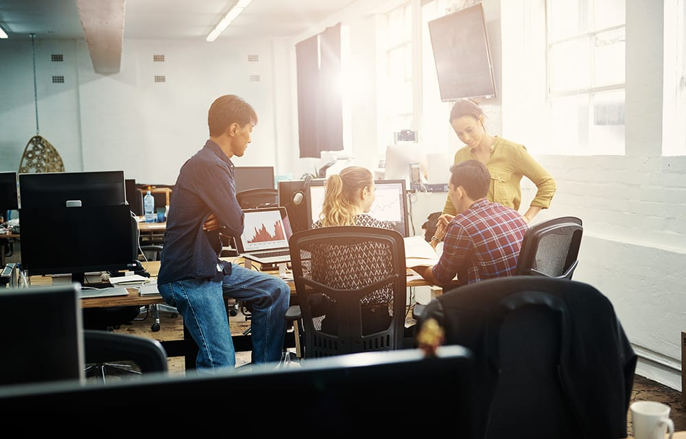 Interactive meetings work best for their business