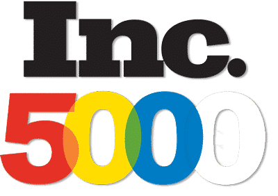 Inc. 5000 fastest growing companies in America.