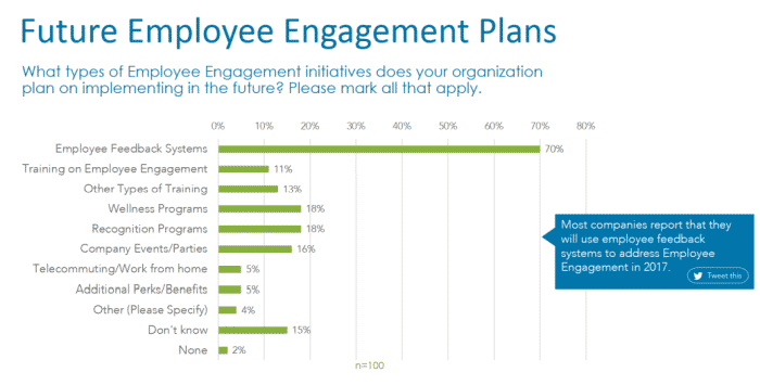 Employee Engagement - Future Plans